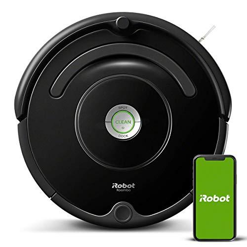 iRobot Roomba 671 Robot aspirapolvere WiFi, Adatto a tappeti e Pavimenti, Tecnologia Dirt Detect,...