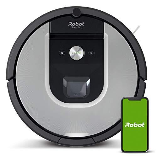 iRobot Roomba 971, Robot aspirapolvere WiFi, Power-Lifting, Dirt Detect, Adatto per peli di Animali...