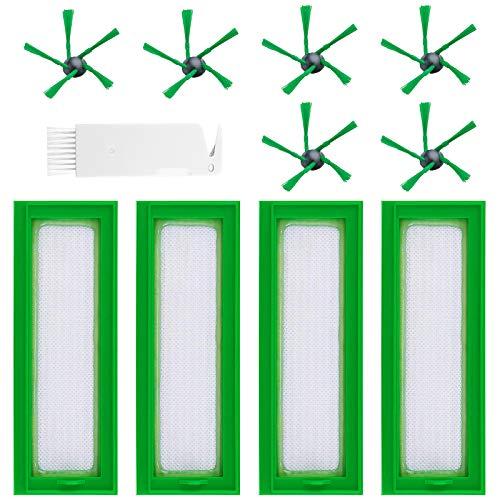 BluePower Accessori Compatibili per Vorwerk Kobold Vr200 Vr300, Kit 11 Accessori Ricambi Spazzole...