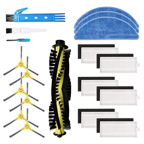 Kit accessori di ricambio per aspirapolvere robot IKOHS netbot S15, materiale premium, confezione...